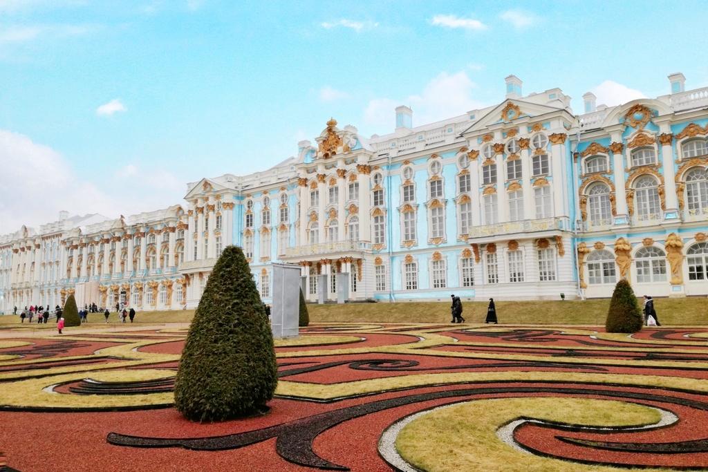 世界遺産エカテリーナ宮殿